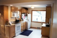 Remodeled kitchen - second view